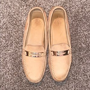 COACH TAN SUEDE NOLA WOMEN'S SIZE 10